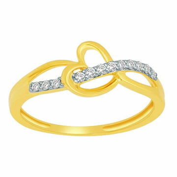 18k gold real diamond ring mga - rdr0032