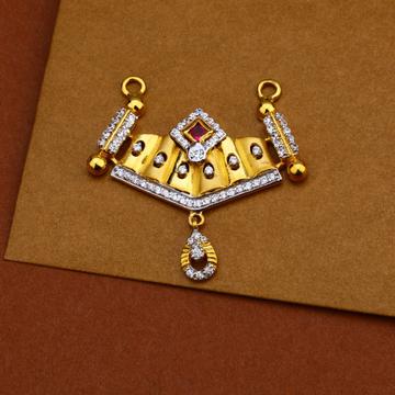 916 Gold Classic Designer Pendant MP192