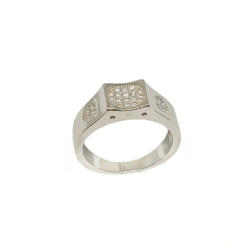 925 Sterling Silver Square Shaped Designer Ring MGA - GRS2182