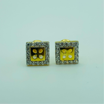 22ct gold tops squre shape by