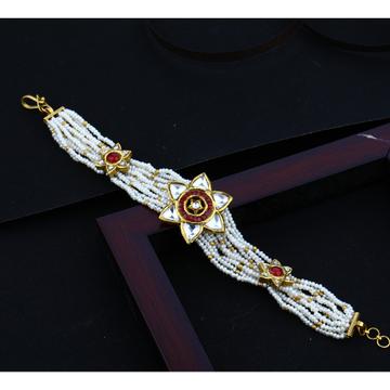 916 Hallmark Gold Unique Design Mani moti Bracelet