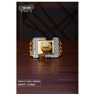 22 Carat 916 Gold Gents heavy ring grg0094