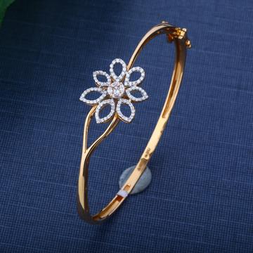 916 Gold Attractive Flower Design For Lady Bracelet