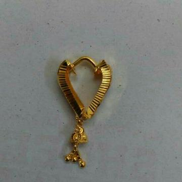 18KT Gold Ladies Earrings by Vipul R Soni