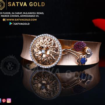 76 ROSE GOLD KADA SGK-0012