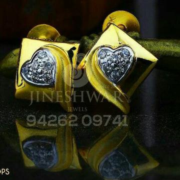 18kt Attractive Cz Gold Ladies Tops ATG -0246