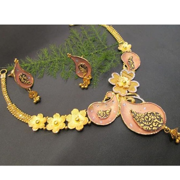 916 gold 22kt necklace RH-GN79