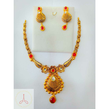 916 Gold Colourful Antique Half Set