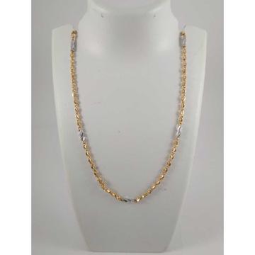 22 K Gold Pendant Chain NJ-P0118