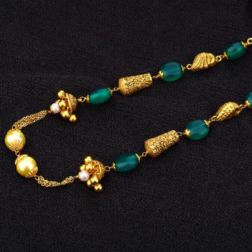 Ladies 916 Designer Antique Cz Moti Chain Mala-AC160