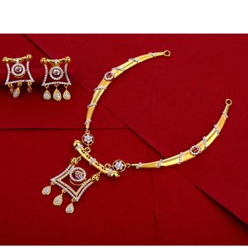 916 Gold Ladies Gorgeous Necklace Set LN260