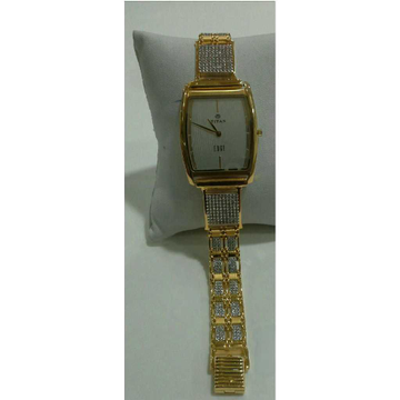 22k Gents Fancy Gold Watch G-1008