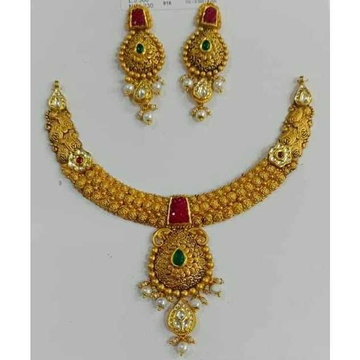 916 Jadtar Necklace by Vipul R Soni