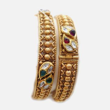 22KT Gold Antique Bangle RHJ-4847