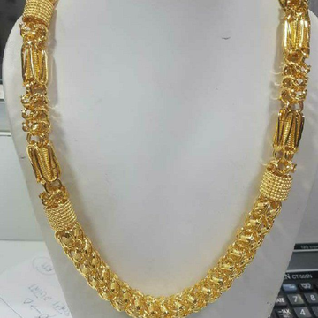 22KT Gold Traditional Indo Italian Chain