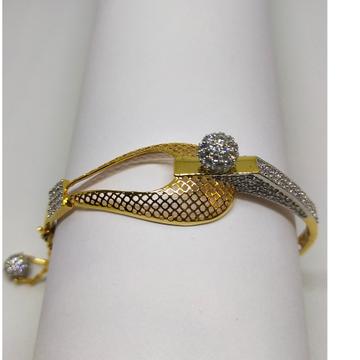 22k diamond and gold bracelet