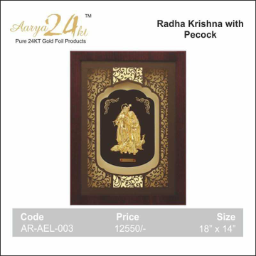 RADHA KRISHA WITH PECOCK