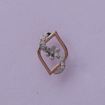 18 carat gold real daimonds ladies earrings RH-LE960