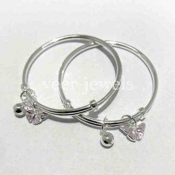 99.9 sterling silver Baby kadli by Veer Jewels