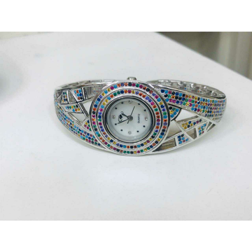 92.5 Sterling Silver Fancy Clock Ms-2877
