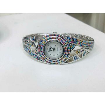 92.5 Sterling Silver Fancy Clock Ms-2877 by
