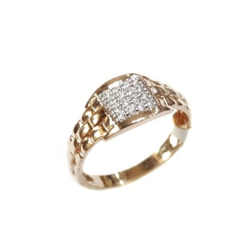 18k rose gold ring mga - rgr001
