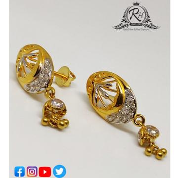 22 carat gold classical earrings RH-ER260