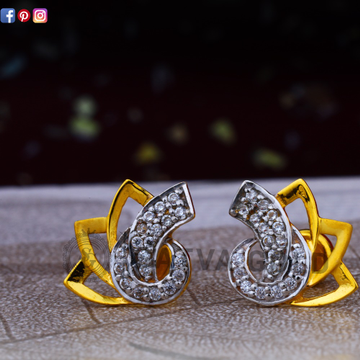 916 gold earrings sge-0045