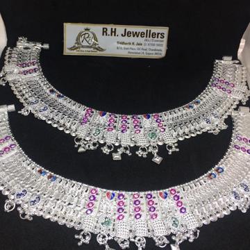 Silver Meena khili Payal SL-0002