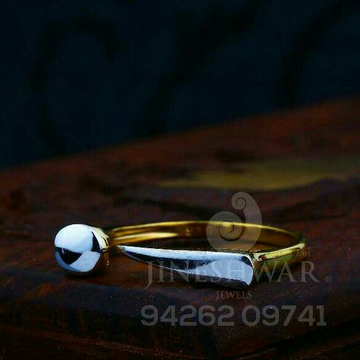 916 Precious Plain Gold Ladies Ring LRG -0755