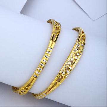 916 Gold Hallmark Fancy Kadli Bangle
