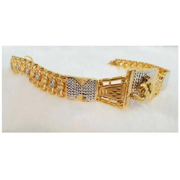 22k Gents Fancy Gold Om Lucky G-9868