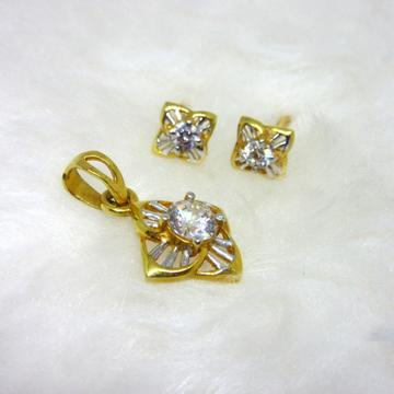 Single Diamond Pendent Set