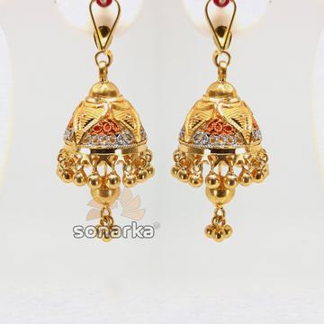 Gold Jhumka SK - E021