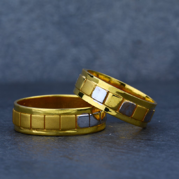 916 Gold Couple Engagement Ring-CR14