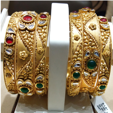 916 Gold Antique Jadtar Kadla
