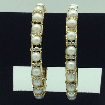 Pearls CZ Fancy Bangles JBG0305