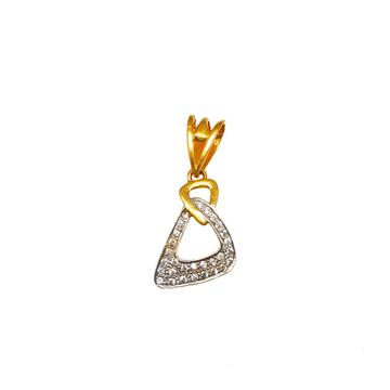 22K Gold Designer Pendant MGA - PDG0169