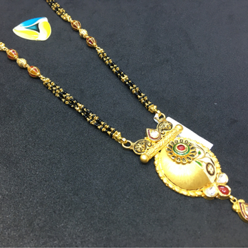 exclusive piece of 916 gold mangalsutra
