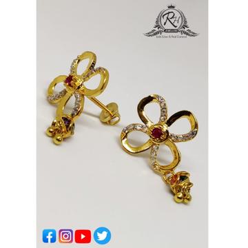 22 carat gold ladies earrings RH-ER259