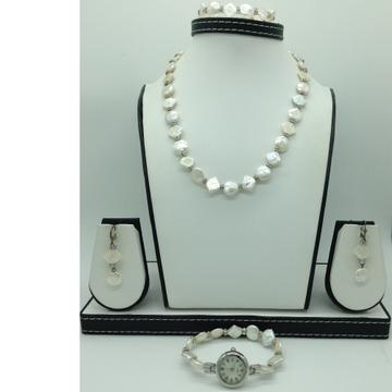 Freshwater Baroque1Lines Pearls FullSet JPP1050