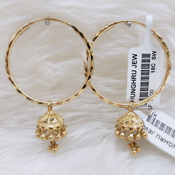 BALI ZUMMER GOLD  by Ghunghru Jewellers