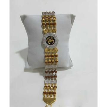 22k Gents Fancy Gold Bracelet G-10164