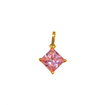 18K Gold Pink Diamond Pendant MGA - PDG0136