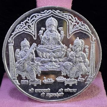 999 Silver Twenty Five gram Trimurti Silver coin