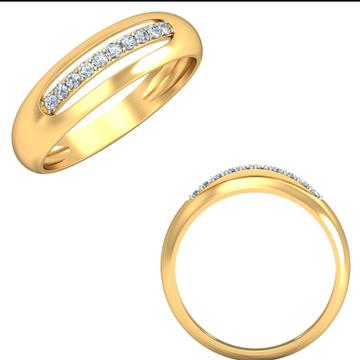 22Kt Yellow Gold Foglia Ring For Women