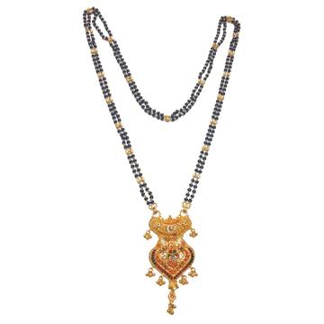 22k Gold Kalkatti Designer Mangalsutra MGA - GM026