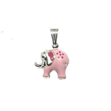 925 Sterling Silver Elephant Pendant MGA - PDS0137