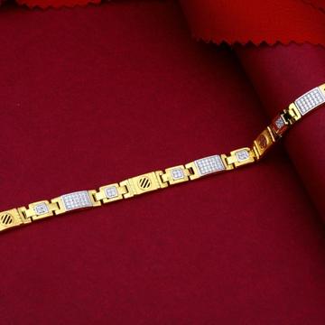 22KT Gold Exquisite Bracelet For Men