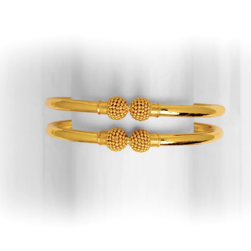 916 gold Simple copper kadli bangle